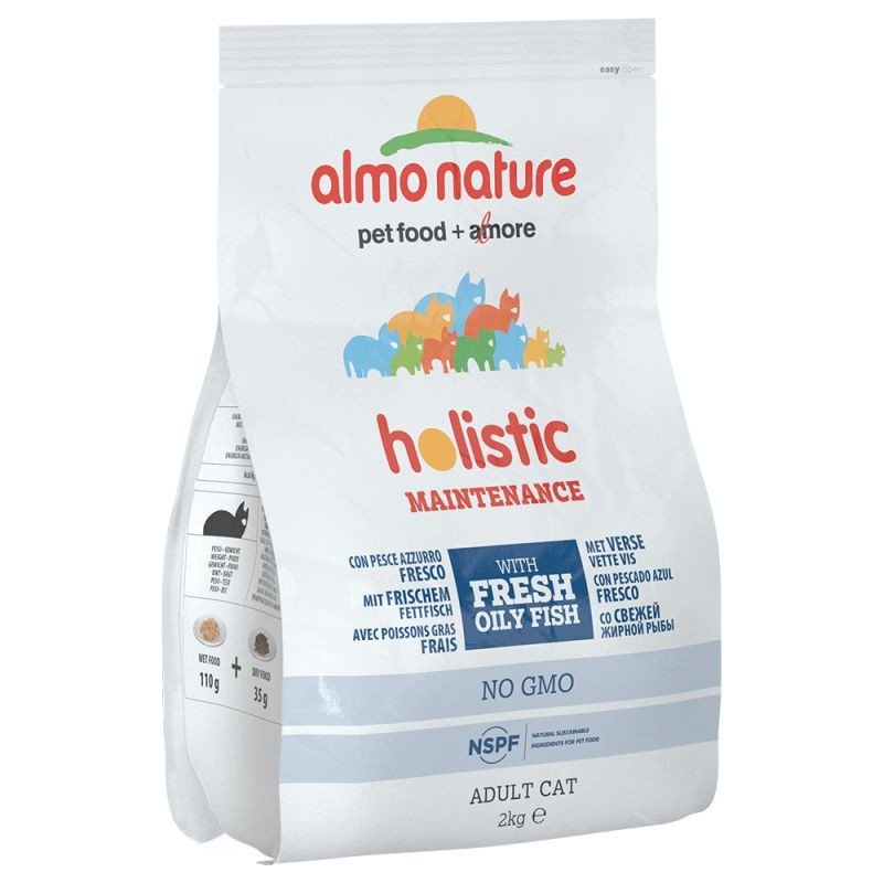 Almo Nature Holistic Adult Cat Poisson blanc et riz 2 kg 8001154121339 avis