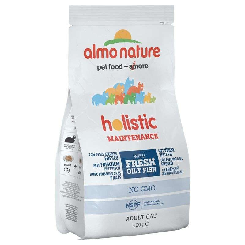 Almo Nature Holistic Adult Cat  White Fish and Rice 400 g order cheap