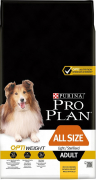 Purina Pro Plan All Size Adult - Optiweight riche en poulet 14 kg