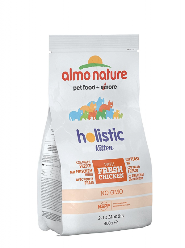 Almo Nature Holistic Kitten Chicken and Rice EAN: 8001154121674 reviews