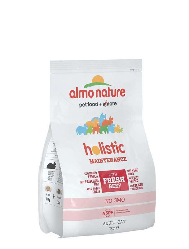 Almo Nature Holistic Adult Cat Manzo e riso 2 kg