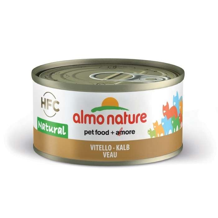 Almo Nature HFC Natural Kalf 70 g 8001154001648