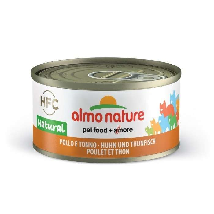 Almo Nature HFC Natural Tonijn en Kip 70 g 8001154001655