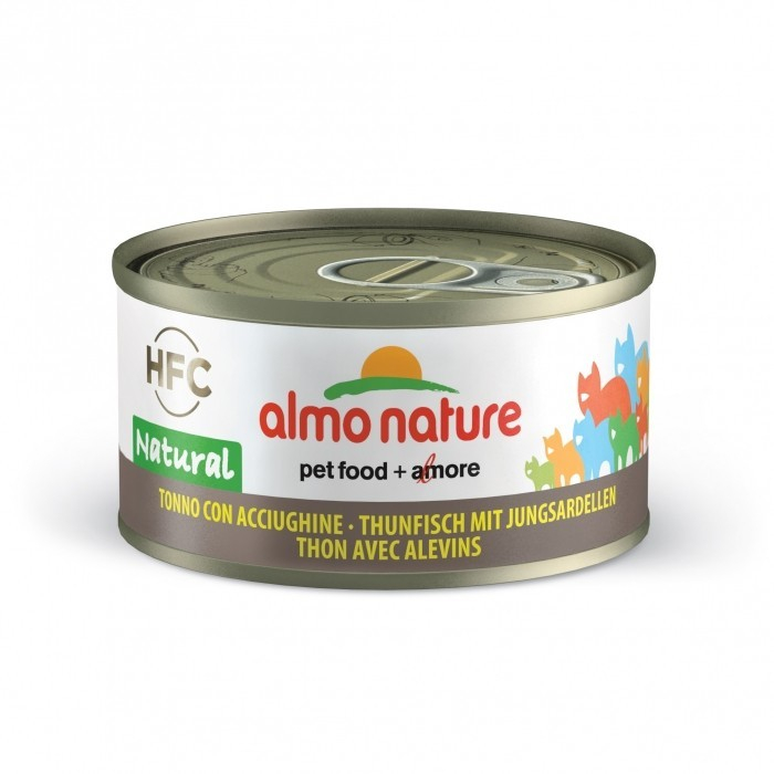 Almo Nature HFC Natural Tonijn en Vislarf 70 g 8001154001655