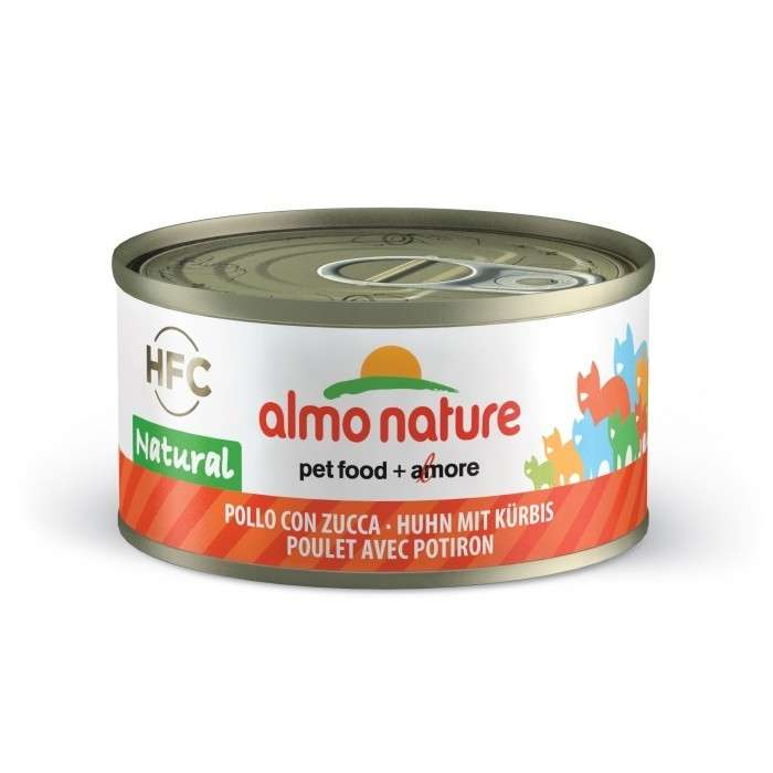Almo Nature HFC Natural Kip & Pompoen 70 g