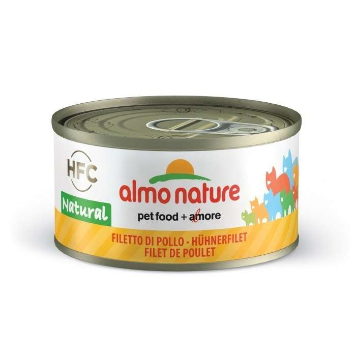 Almo Nature HFC Natural met Kipfilet 70 g 8001154001648