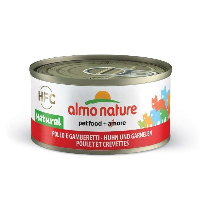 Almo Nature HFC Natural Kip & Garnaal 70 g 8001154007589