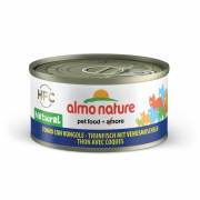 HFC Natural Tuna and Clams 70 g