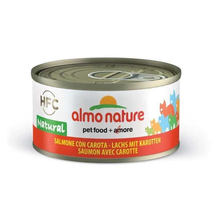 Almo Nature HFC Natural Salmon with Carrot EAN: 8001154001655 reviews