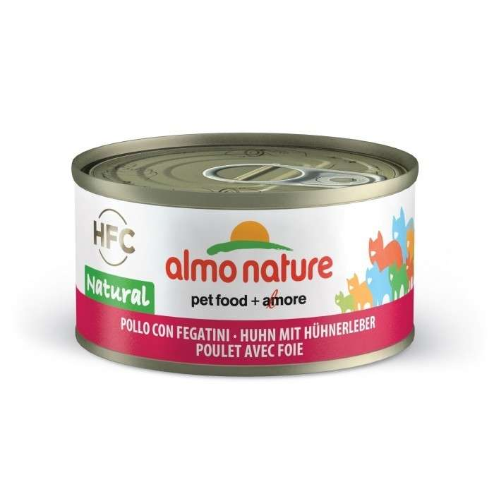 Almo Nature HFC Natural Kip en Lever 70 g
