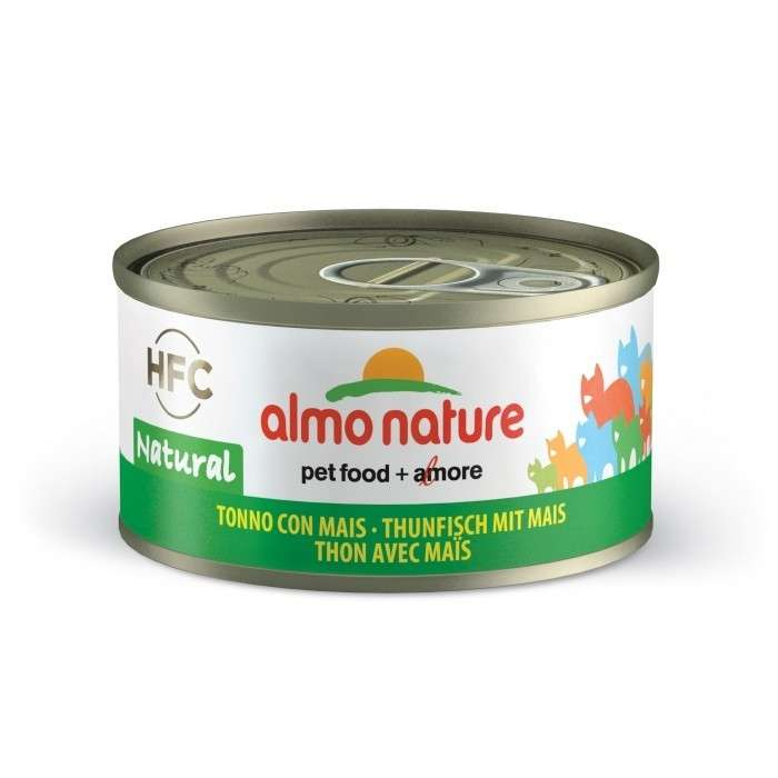 Almo Nature HFC Natural Tonijn met Maïs 70 g