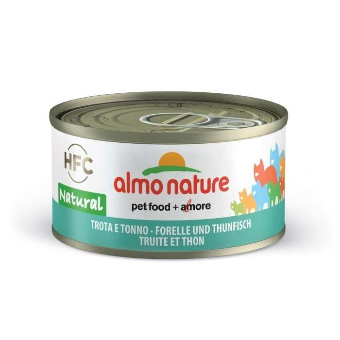 Almo Nature HFC Natural Trout and Tuna 70 g