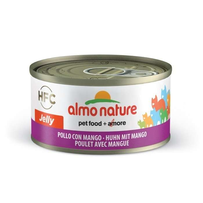 Almo Nature HFC Jelly Chicken and Mango EAN: 8001154124576 reviews