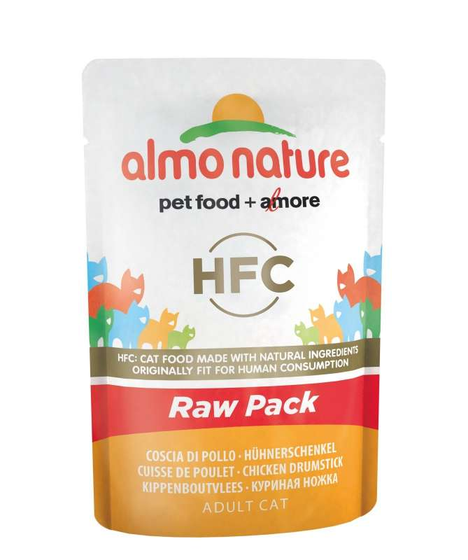 HFC Raw Pack with Chicken Drumstick by Almo Nature 55 g buy online