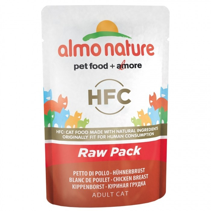 Almo Nature HFC Raw Pack with Chicken Breast 55 g order cheap