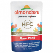 Almo Nature HFC Raw Pack Filete de Atún Barrilete 55 g