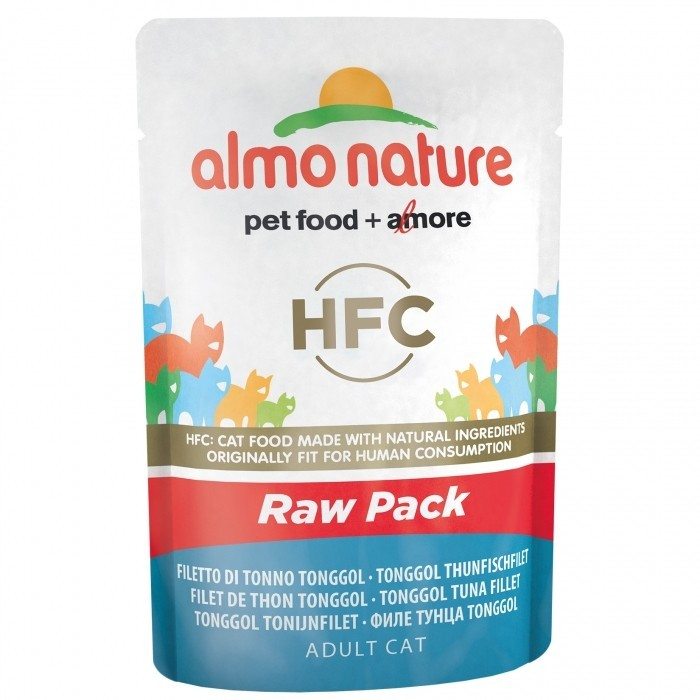 Almo Nature HFC Raw Pack Tonggol Tuna Fillet 55 g buy online