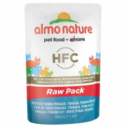 Almo Nature HFC Raw Pack Filete de Atún Tonggol 55 g