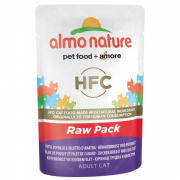 Almo Nature HFC Raw Pack Filete de Pollo y Filete de Pato 55 g