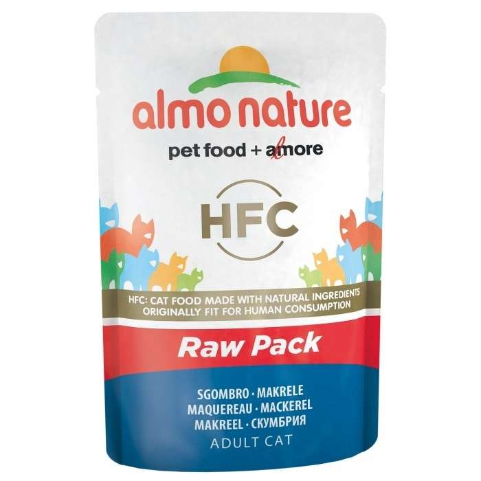Almo Nature HFC Raw Pack Mackerel EAN: 8001154126334 reviews