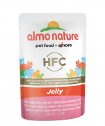 Almo Nature HFC Jelly Tuna, Chicken and Ham 55 g