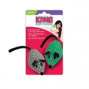 KONG Catnip Mice 2-Pack