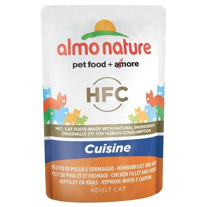 Almo Nature HFC Cuisine Chicken Fillet and Cheese 55 g