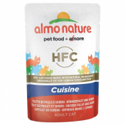 Almo NatureHFC Cuisine Chicken Fillet and Surimi 55 g Cat food