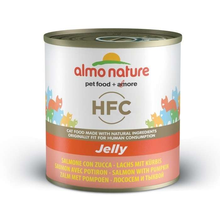Almo Nature HFC Jelly Salmon and Pumpkin 70 g, 140 g, 280 g test