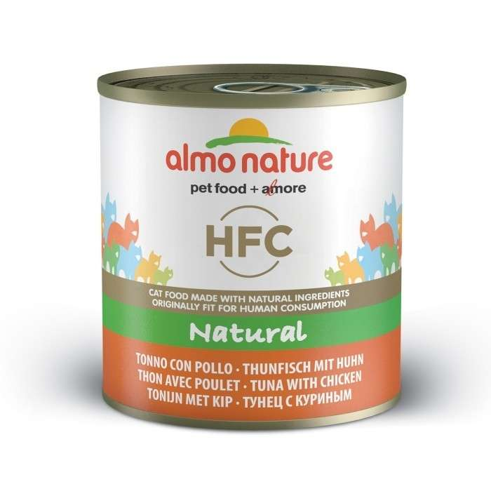 Almo Nature HFC Natural Tonijn & Kip 280 g