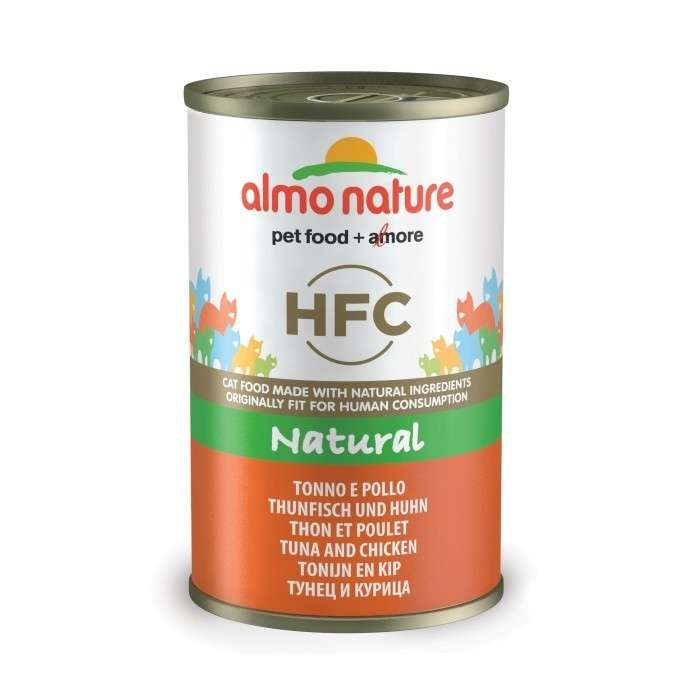 Almo Nature HFC Natural Tonijn & Kip 140 g
