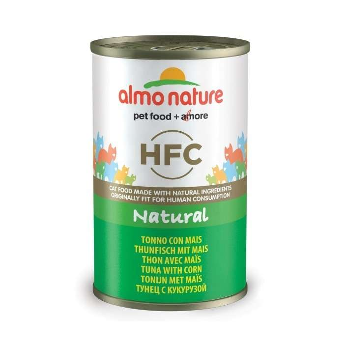 Almo Nature HFC Natural Tonijn met Maïs 140 g