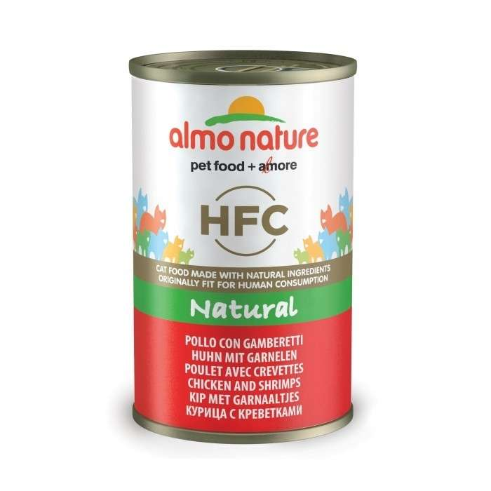 Almo Nature HFC Natural Kip & Garnalen 140 g