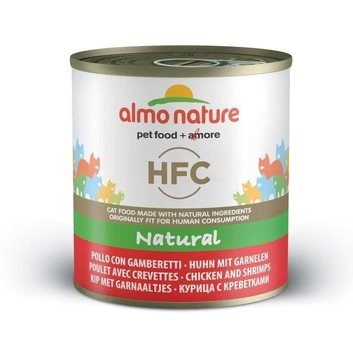 Almo Nature HFC Natural Kip & Garnalen 280 g