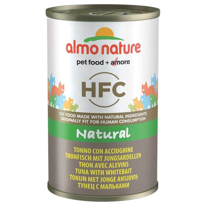 Almo Nature HFC Natural Tuna with Whitebait 140 g buy online