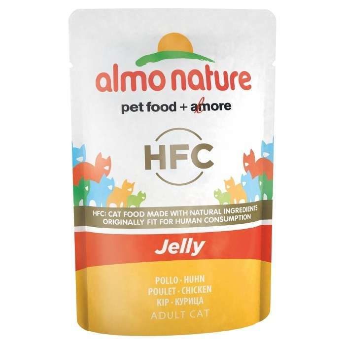 Almo Nature HFC Jelly Kip 55 g