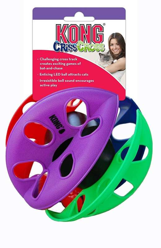 KONG Cat Criss Cross  Multicolore