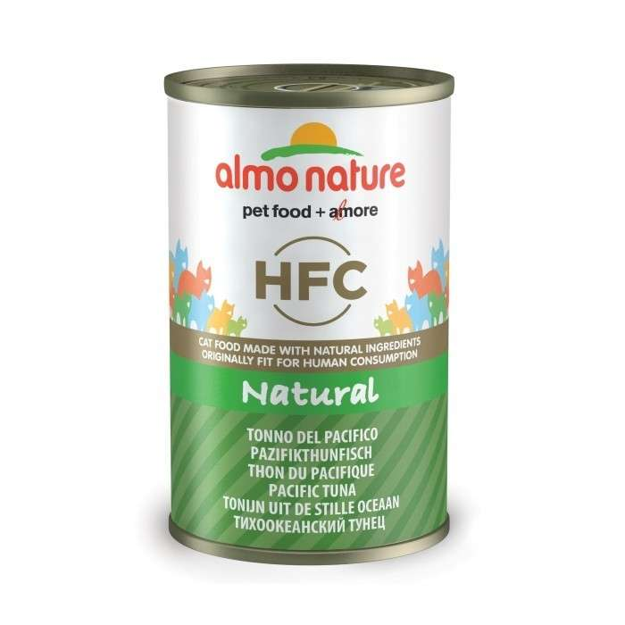 Almo Nature HFC Natural Pacifische Tonijn 140 g 8001154120264