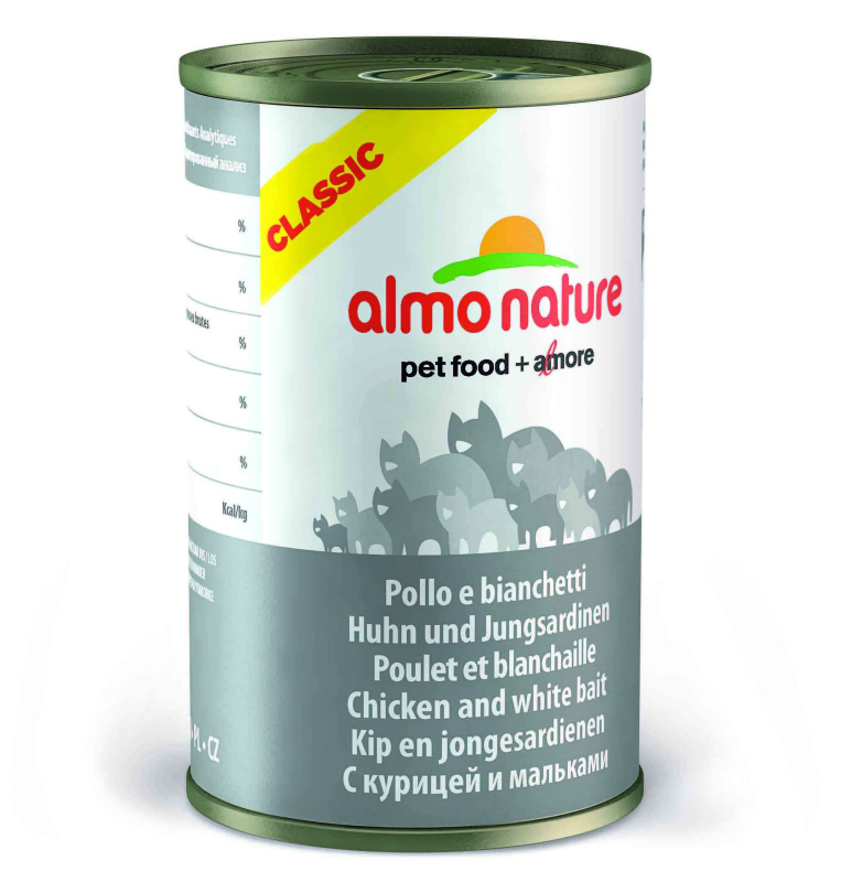 Almo Nature HFC Natural Chicken and Whitebait EAN: 8001154120530 reviews