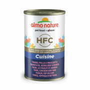 Almo NatureHFC Cuisine Tuna, Chicken and Ham 140 g