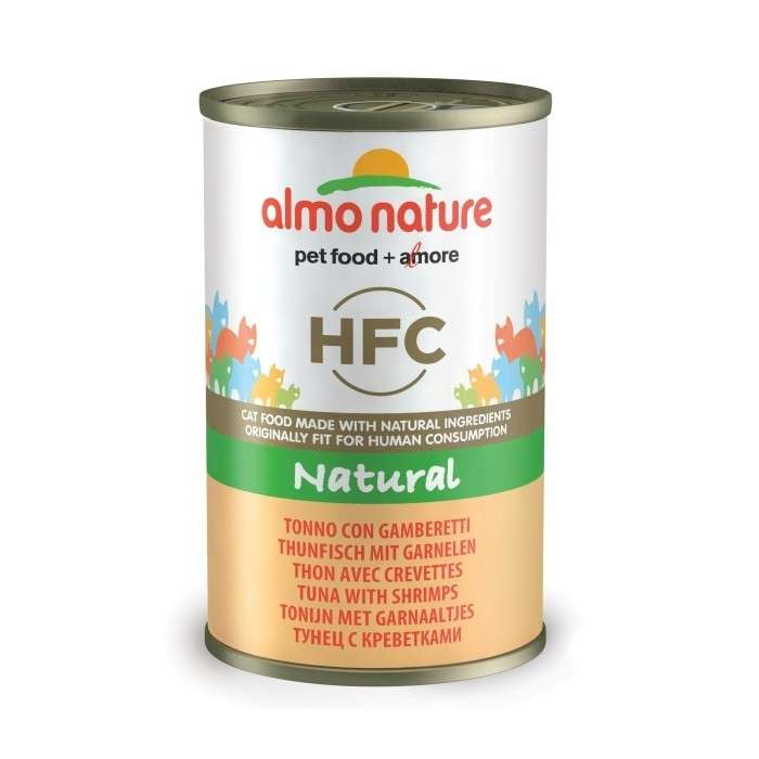 Almo Nature HFC Natural Tonijn & Garnalen 140 g 8001154120264