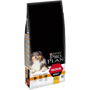 Purina Pro Plan Medium Adult - Optihealth runsaasti Kanaa 14 kg