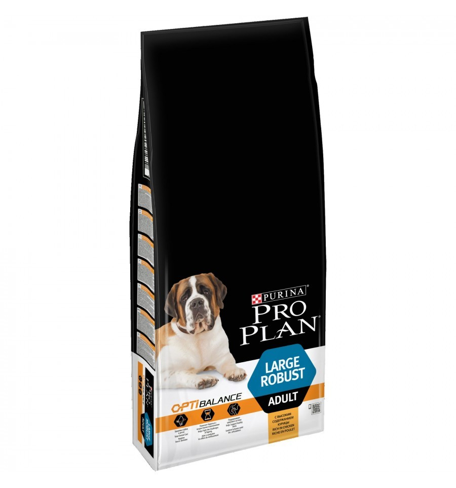 Purina Pro Plan Large Adult Robust - Optihealth Kanaa 14 kg osta edullisesti