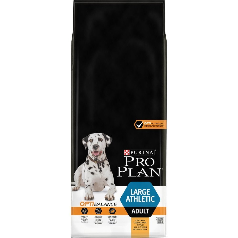 Purina Pro Plan Adult Large - Optihealth Athletic formula med Kyckling 14 kg köp billiga på nätet