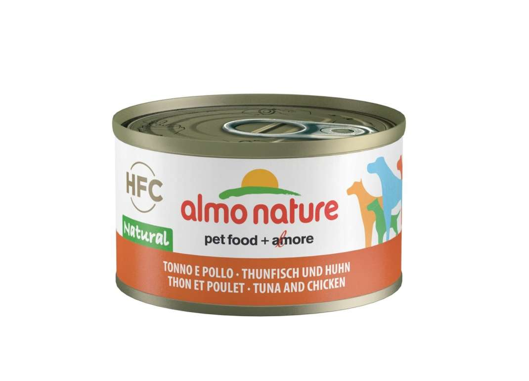 Almo Nature HFC Natural Tonijn & Kip 95 g 8001154124293