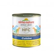 Almo NatureHFC Cuisine Chicken with Carrots and Rice 280 g