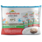 Almo Nature HFC Natural Multipack with 3 Chicken Varieties 6x55 g