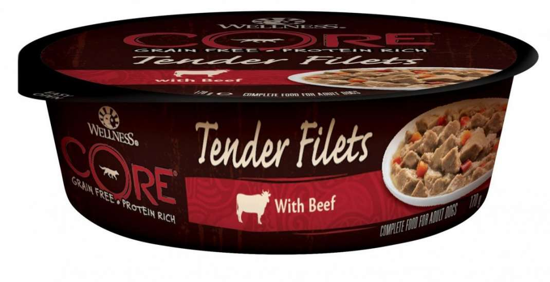 Wellness Core Tender Filets con Vacuno 170 g