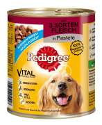 Pedigree Adult with 3 Meat Varieties in Pate 800 g
