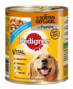 Pedigree Can with 3 Poultry Varieties 800 g